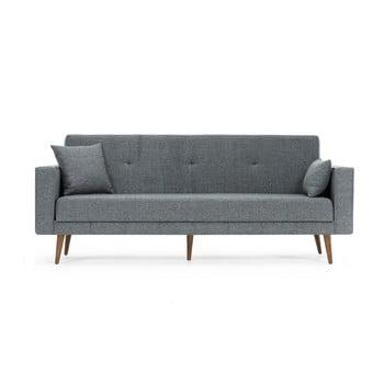 Canapea extensibilă Balcab Home Ivonne, gri imagine