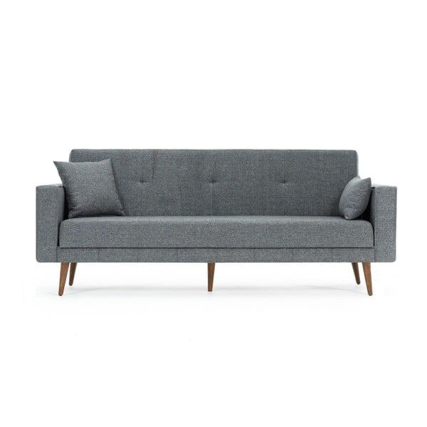 Szara sofa rozkładana Balcab Home Ivonne