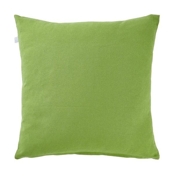 Polštář s náplní Poppy Green, 45x45 cm