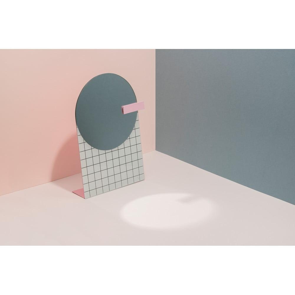 Stolní zrcadlo DOIY Pool, 17,5 x 24 cm
