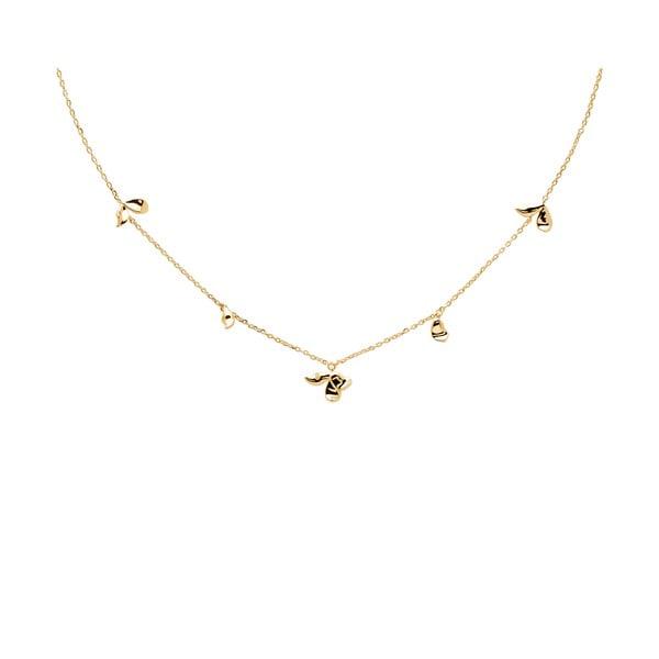 Pozlátený náhrdelník PD PAOLA Jasmine