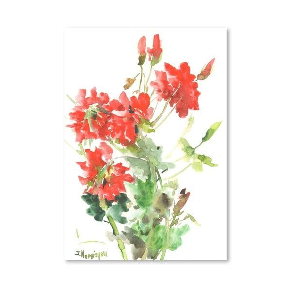 Plakát Geranium in Red od Suren Nersisyan