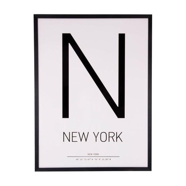 Tablou sømcasa N Letter, 60 x 80 cm