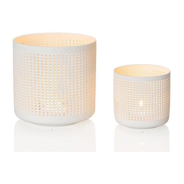 Svícen Ceramic Dots, 8x8 cm