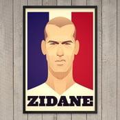 Plakát Zidane, 29,7x42 cm