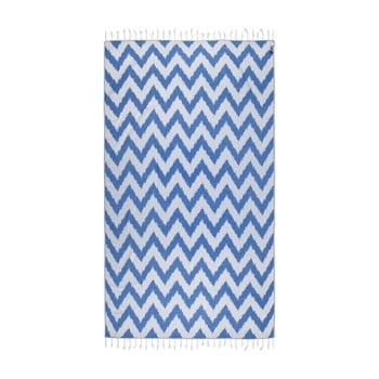 Prosop hammam Kate Louise Laila, 165 x 100 cm, albastru imagine