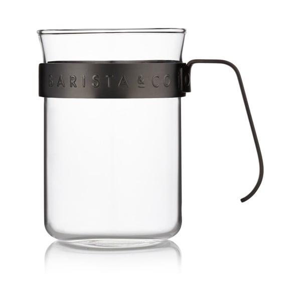 Šálky na kávu Barista 220 ml, černé, 2 ks