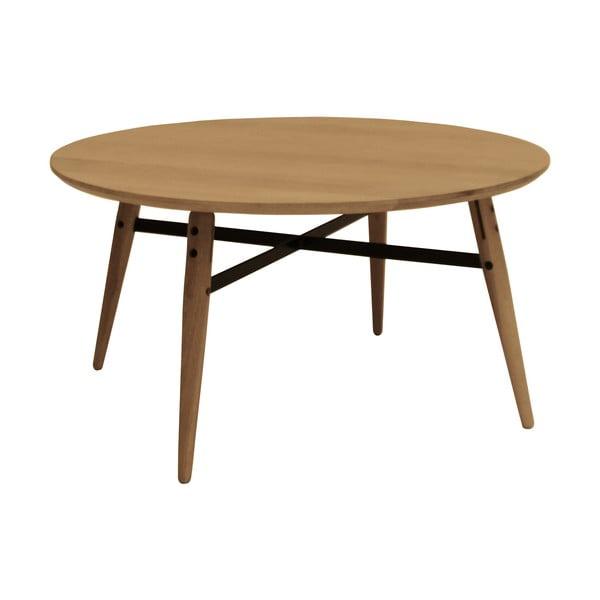 Hnědý konferenční stolek Canett Exact, velký