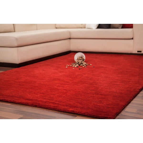 Vlněný koberec Millennium 120x170 cm, červený