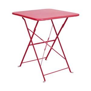 Červený skládací stůl Butlers Daisy Jane