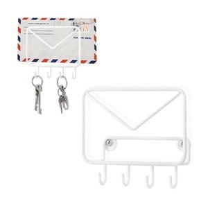 Věšák na klíče a obálky Mail