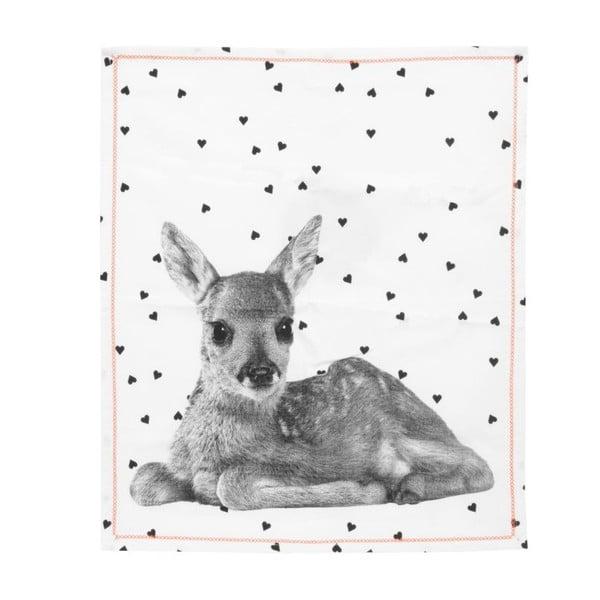 Kuchynská utierka PT LIVING Hearts Deer, 50×70cm