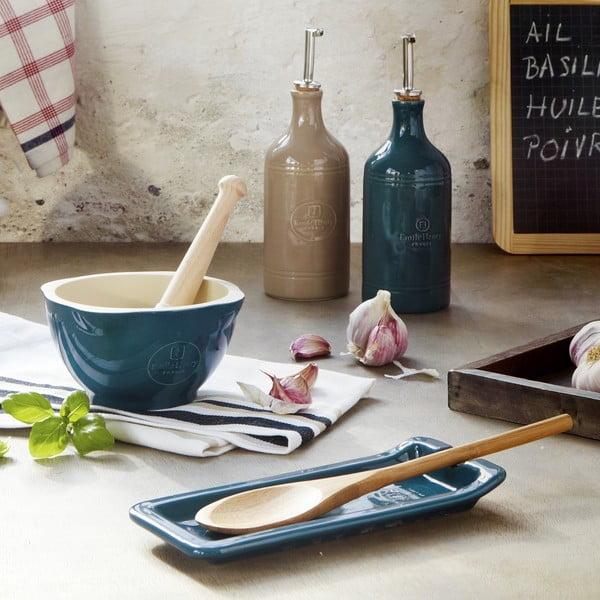 Suport din ceramică pentru lingură Emile Henry, albastru