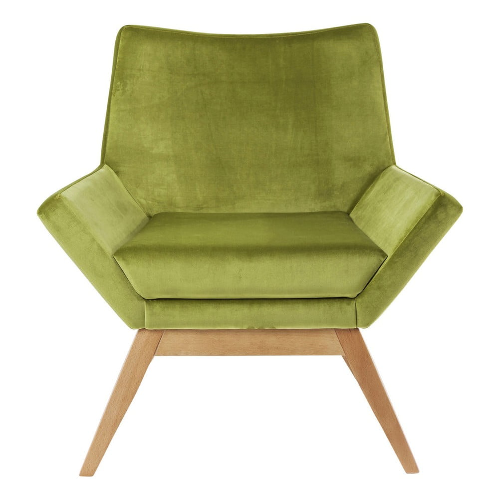 Zelené křeslo Kare Design Pixie
