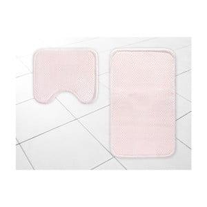 Set 2 covorașe de baie Madame Coco, roz