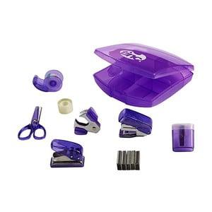 Sada 8 fialových školních potřeb TINC Tonkin Mini
