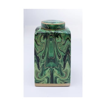 Recipient decorativ Kare Design Malachite, 42 cm, verde de la Kare Design