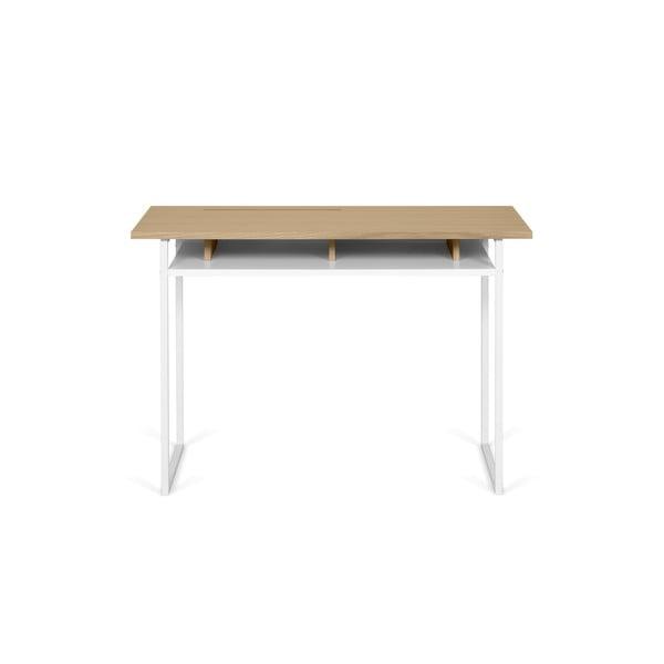 Bristol íróasztal tölgyfa díszítéssel - TemaHome