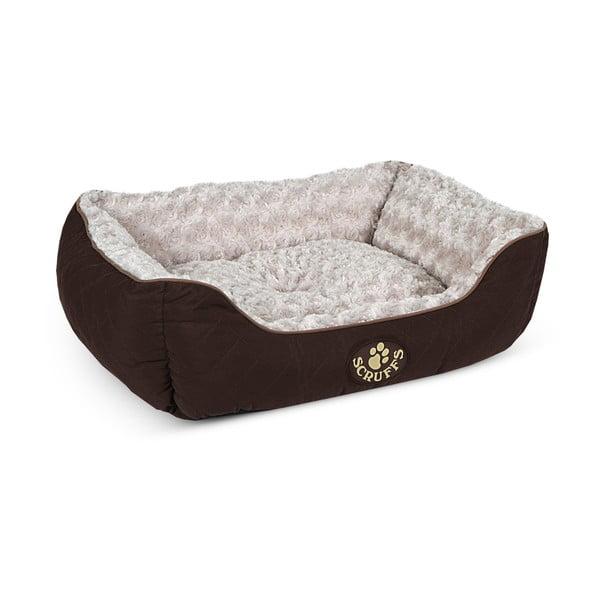 Psí pelíšek Wilton Box Bed M 60x50 cm, hnědý