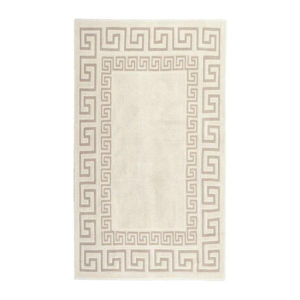 Krémově bílý bavlněný koberec Orient 60x90 cm