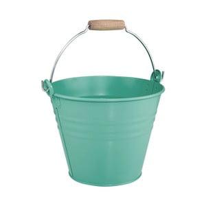 Tyrkysový dekorativní kbelík Butlers Zinc, 8l