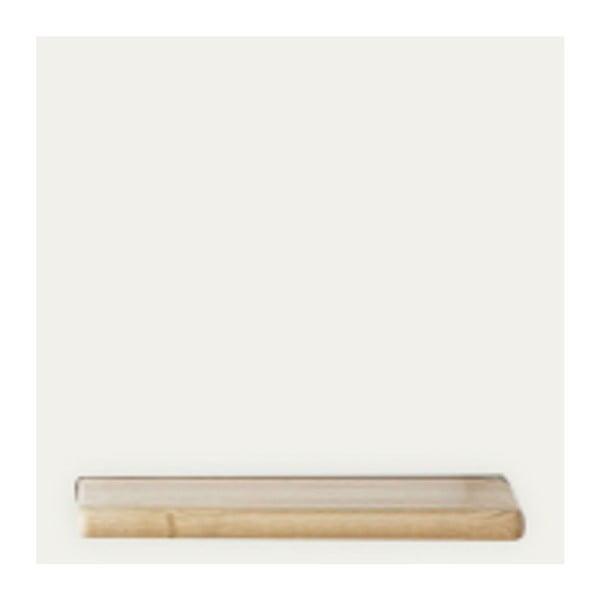 Bílý policový díl HARTÔ Marcel, 33,5 x 33,5 cm