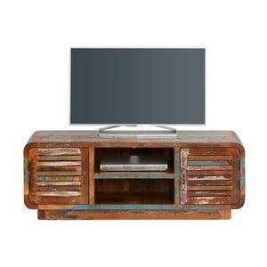 Comodă TV din lemn reciclat Støraa Tulika, lătime 140 cm