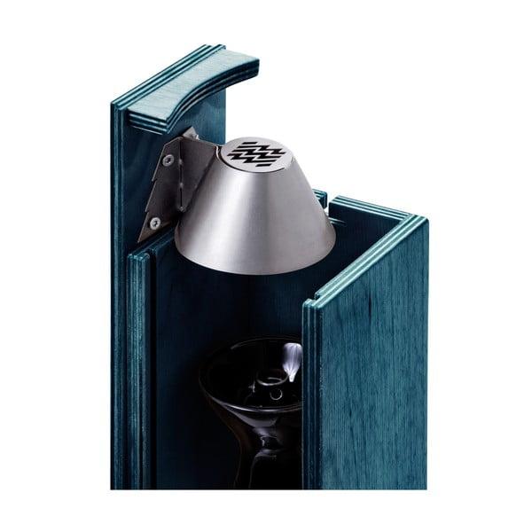 Designová vodní dýmka Hekkpipe Active, modrá