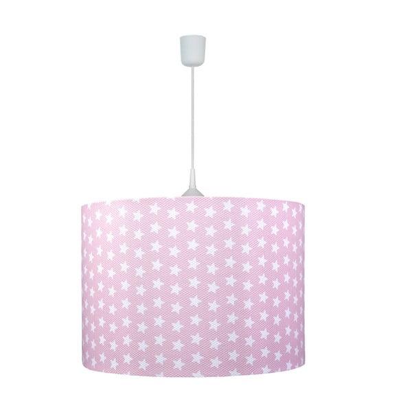 Závěsné světlo Pink Star