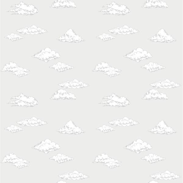 Tapet Dekornik Clouds Gray, 50 x 280 cm