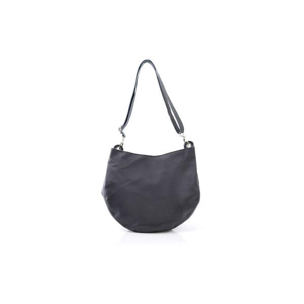 Kožená kabelka Melia, černá