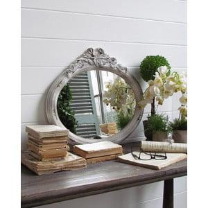 Zrcadlo Orchidea Shabby White, 60x54 cm