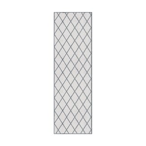 Šedý běhoun Hanse Home Magic Scale, 50x150cm