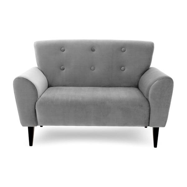 Canapea cu 2 locuri Vivonita Kiara, gri