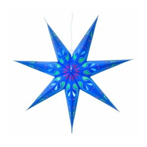 Závěsná svítící hvězda Siri Blue, 70 cm