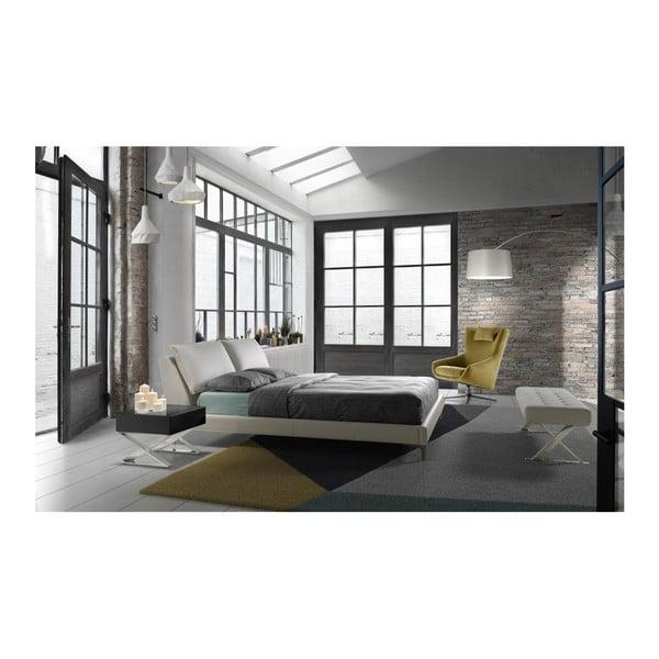 Čalouněná postel Ángel Cerdá Eduardo, 160 x 200 cm