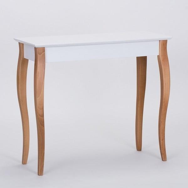 Bílý odkládací stolek Ragaba Console,délka85cm