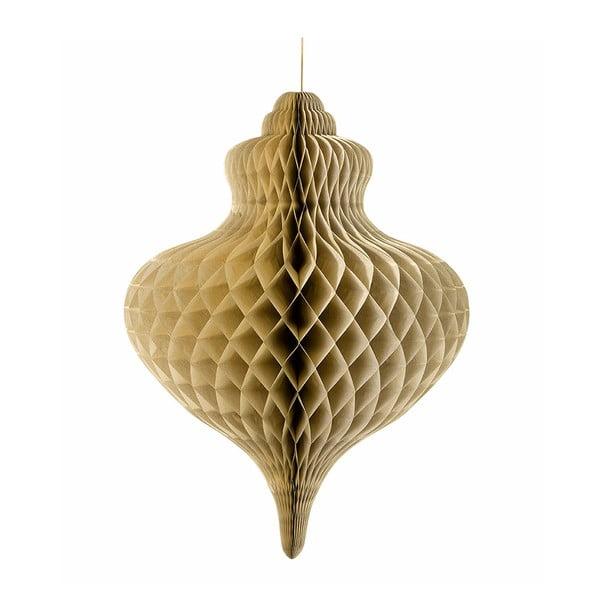 Papírová dekorace Giant Honeycomb Gold XXL