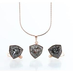 Set náhrdelníku a náušnic se Swarovski Elements Laura Bruni Kloma