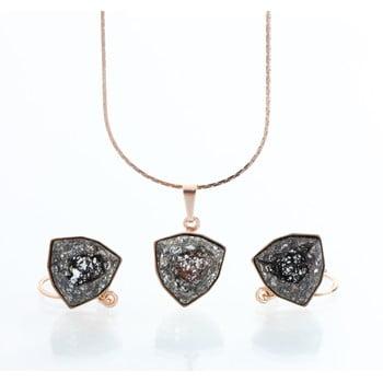 Set colier și cercei cu cristale Swarovski Laura Bruni Kloma de la Laura Bruni