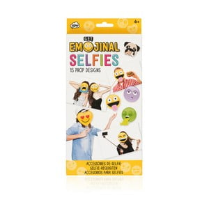 Set 10 accesorii pentru selfie-uri NPW Emojinal Selfies