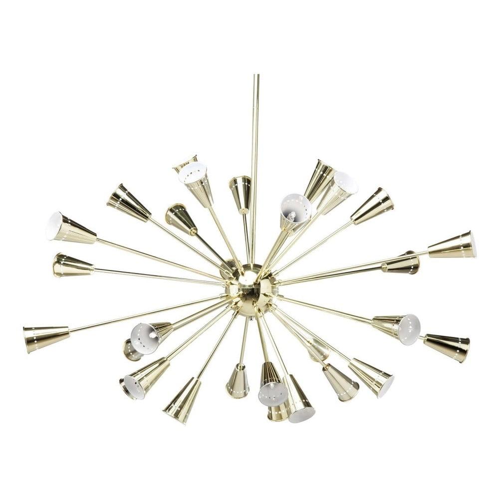 Závěsné svítidlo s detaily ve zlaté barvě Kare Design Atmosphere
