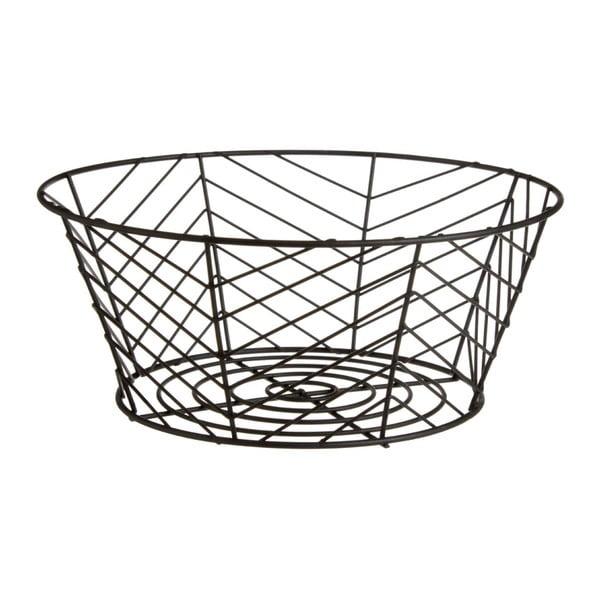 Železný košík na ovoce Premier Housewares, Ø 28 x 12 cm