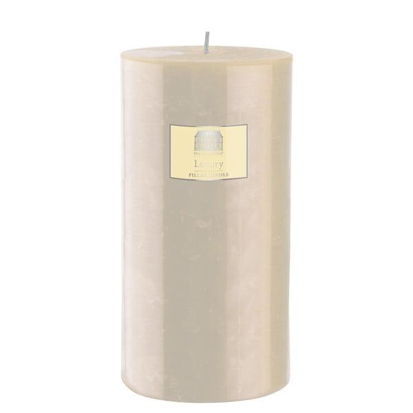 Svíčka 20 cm, krémová, 160 hodin hoření