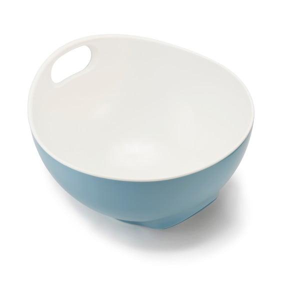 Niebieska ergonomiczna miska do mieszania Joseph Joseph Tilt, 4l