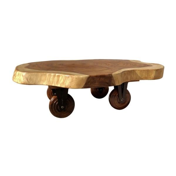 Konferenční stolek na kolečkách ze dřeva Suar Moycor