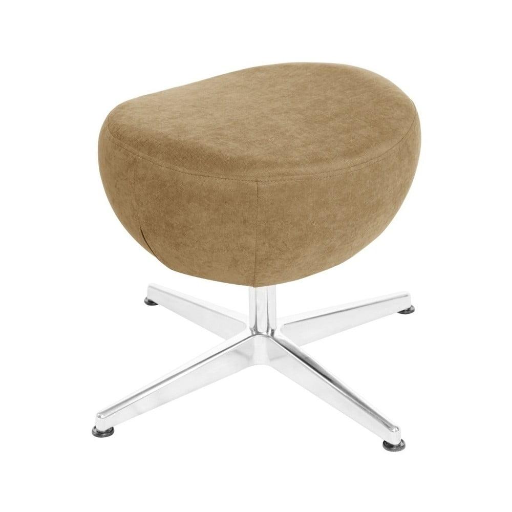 Pískově hnědá otočná stolička/podnožka My Pop Design Vostell