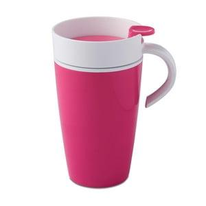 Růžový termohrnek Rosti Mepal Thermo,275ml