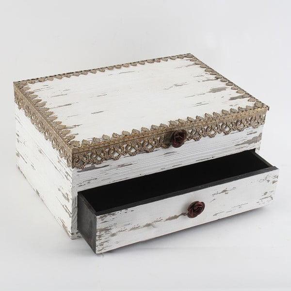 Dřevěná krabička Antique Gold