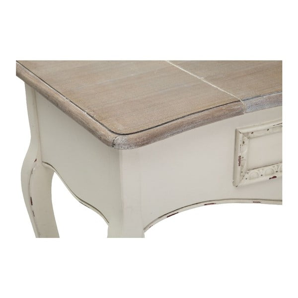 Stůl se zrcadlem Montecarlo, 80x90x40 cm